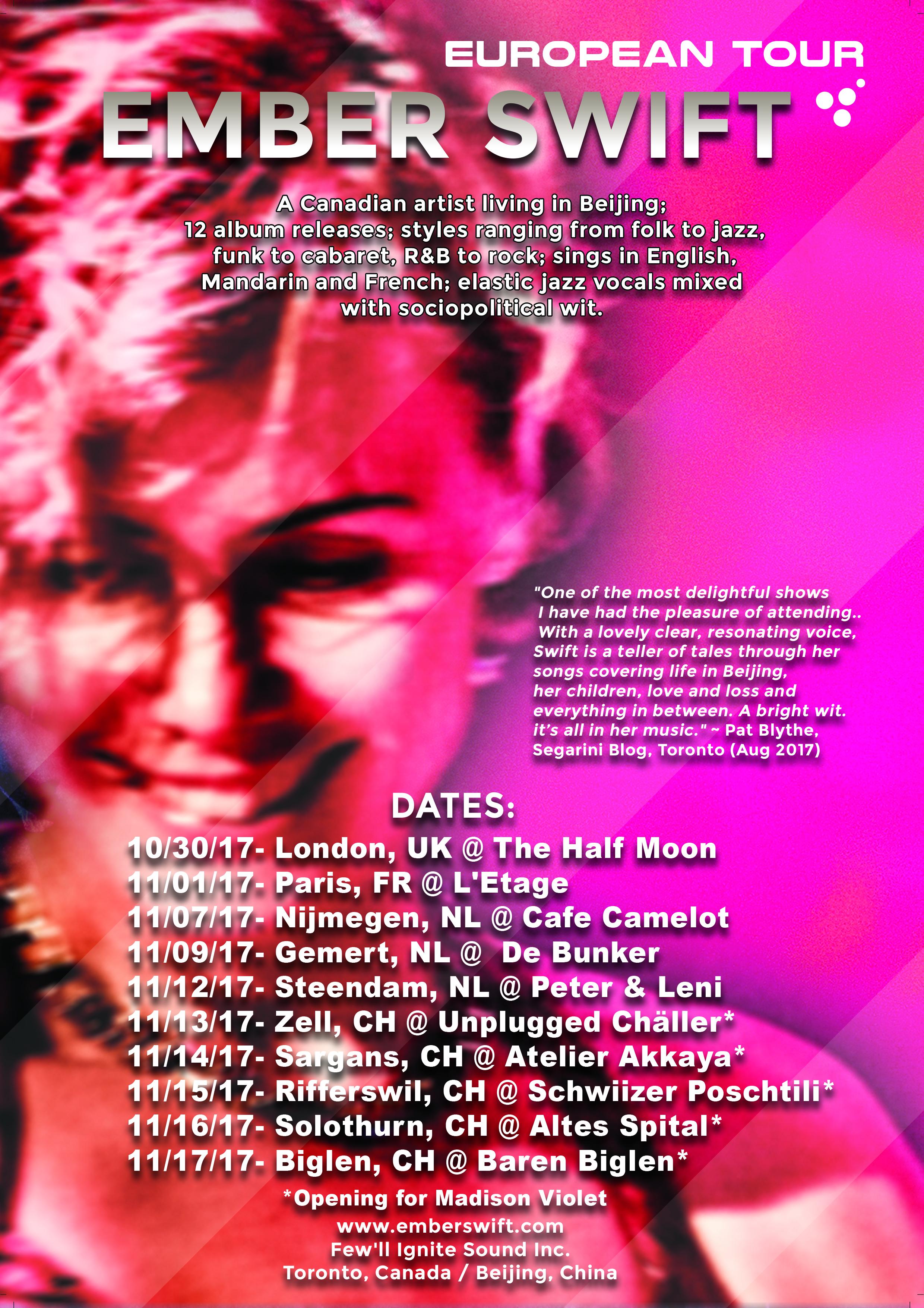Euro Tour Poster