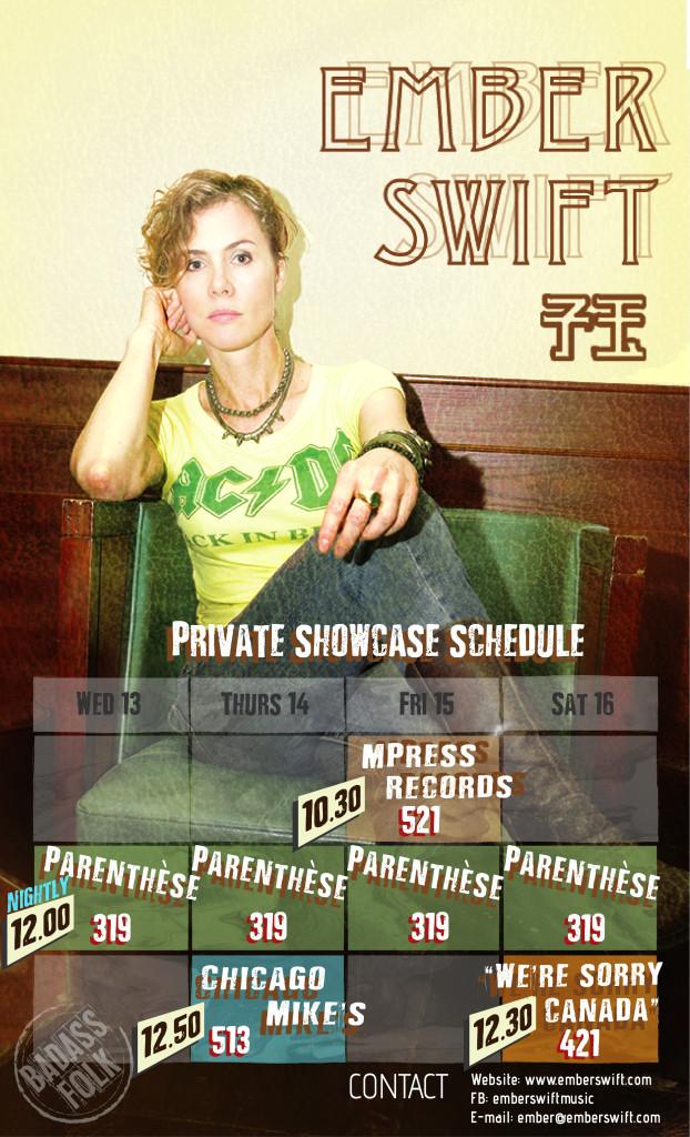 Ember Swift Poster